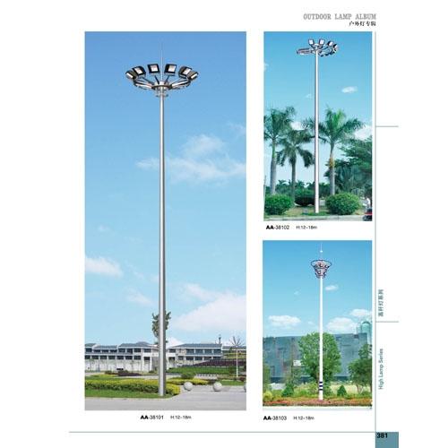 新款18米广场高杆灯