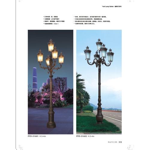 景区豪华欧式庭院装饰灯