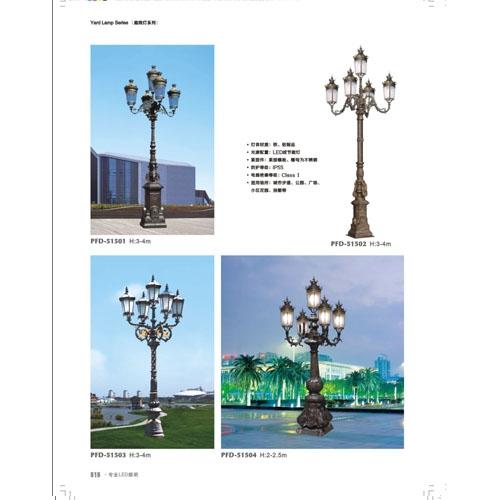 高品质宫廷别墅欧式庭院灯