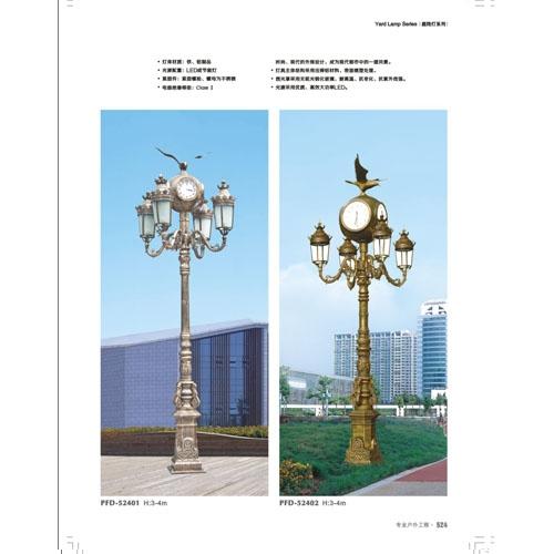 飞鹰装饰广场欧式庭院照明灯
