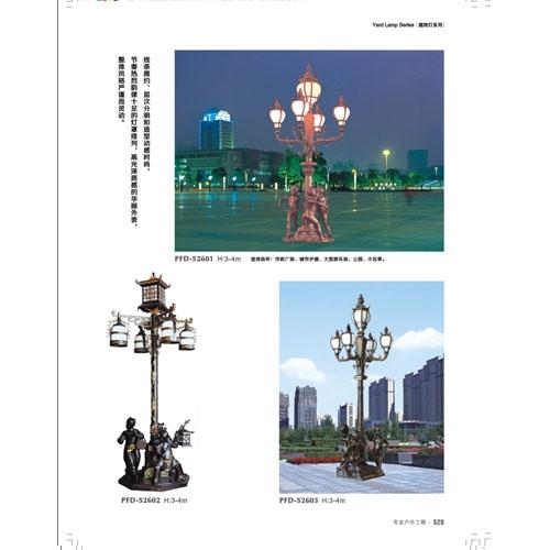 中式欧式人像雕塑庭院装饰灯