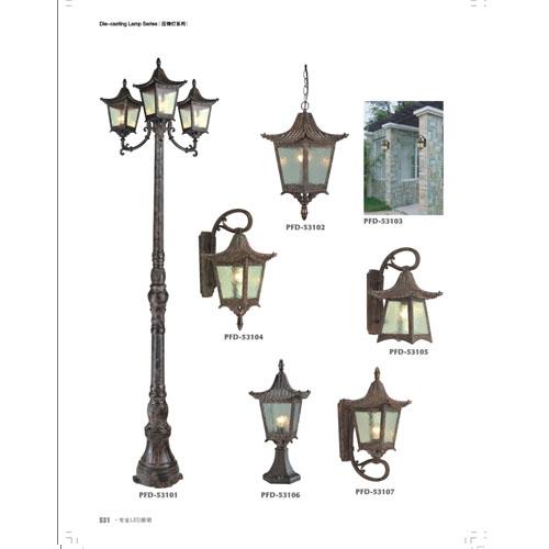 欧式中式仿古建筑装饰灯