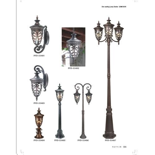 中山户外装饰照明欧式庭院灯生产基地