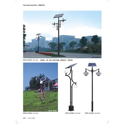 艺术造型非标工程太阳能庭院灯