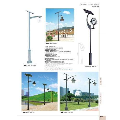 LED草坪绿化太阳能庭院路灯