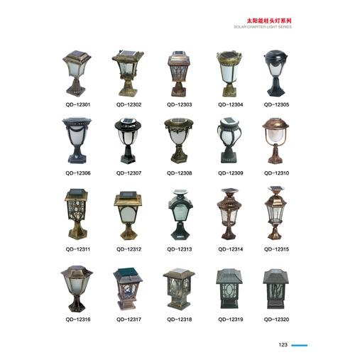 中山专业太阳能经典款柱头灯生产厂家