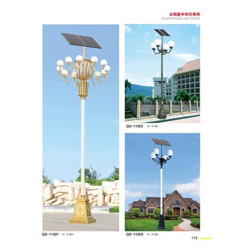 广场道路工程太阳能中华灯