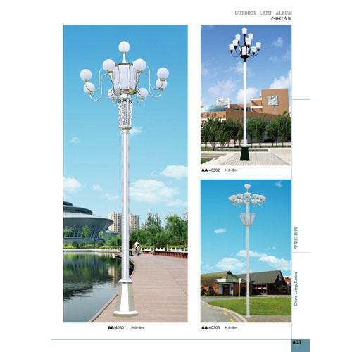 非标路灯工程中式LED中华灯