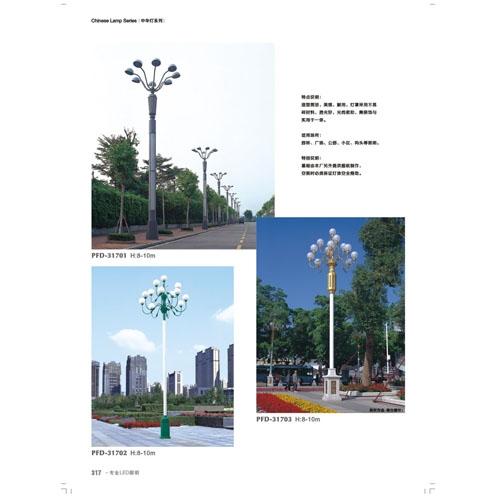 10米LED道路装饰中华灯