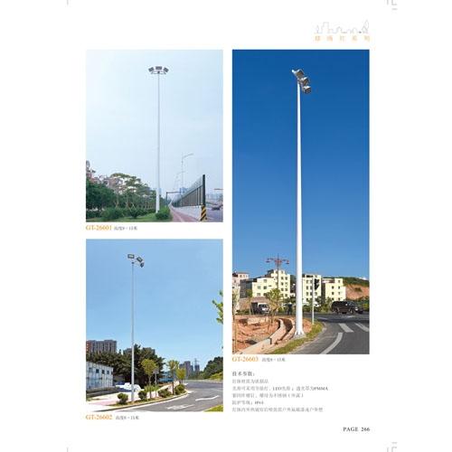 市政工程大功率投光路灯生产厂家