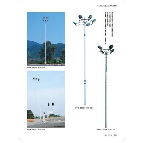 工程定制风景区照明高杆灯800W投光灯