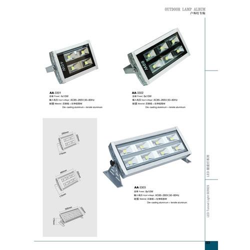 照明工程用LED投光灯