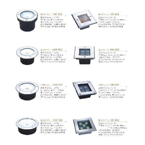 厂价批发LED正方形圆形埋地灯