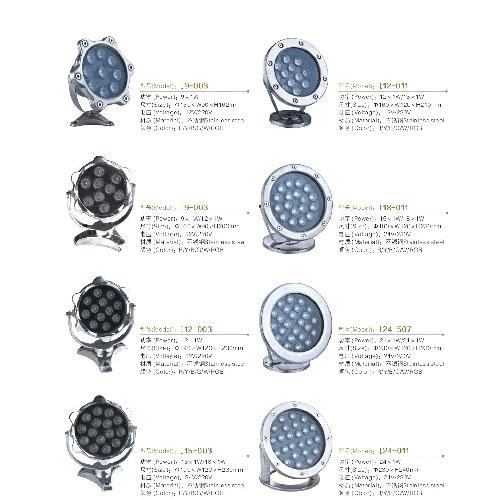 坚固耐用LED水底灯厂价直销