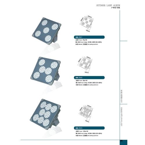 90W节能省电LED隧道投光灯