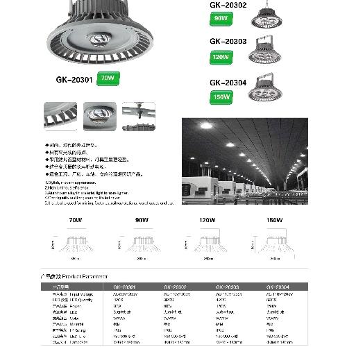 耐用LED仓库照明灯工矿灯投光灯