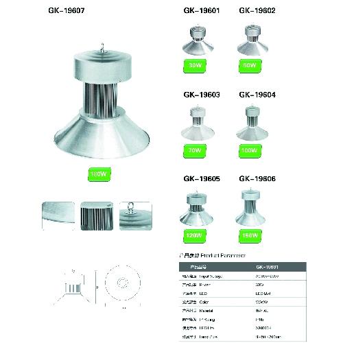 LED锅罩工矿灯投光灯工程定制