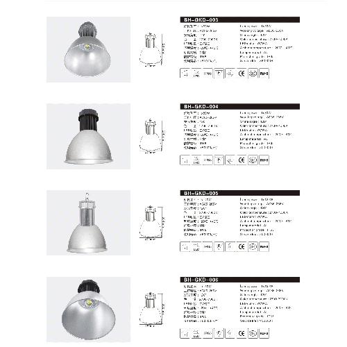 铝材LED防水工矿灯厂价直销