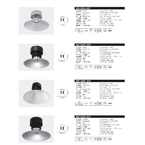 单色LED碟罩工矿灯投光灯