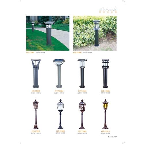 现代欧式太阳能草坪扥
