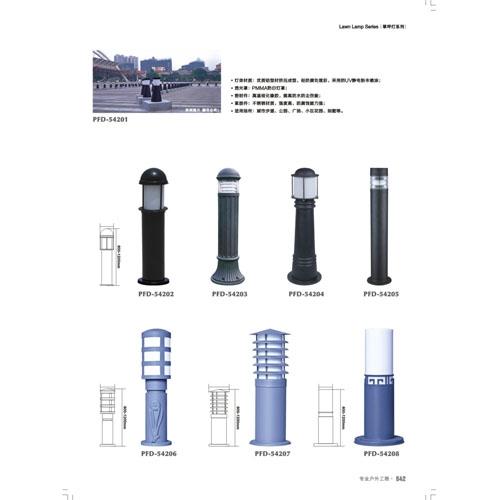 中山草坪灯厂家各种款式工程定制