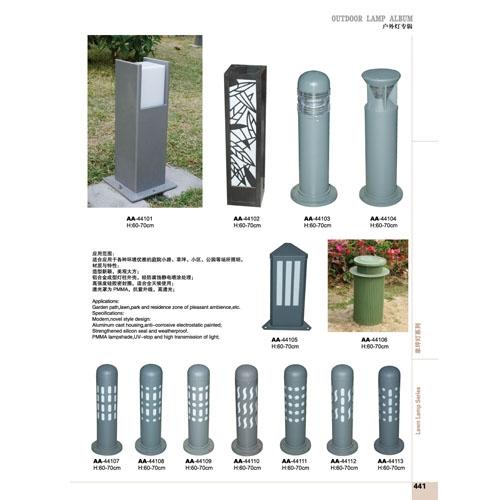 耐用圆柱形LED草坪灯生产定制